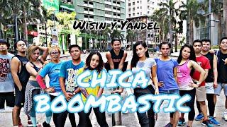 CHICA BOOMBASTIC BY: WISIN Y YANDEL   ZUMBA   TEAM BLADERS & MV FITNESS
