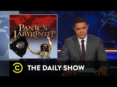 Tragedy in Paris - The Three Stages of Political Grief: The Daily Show