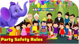 Party Safety Rules | Safety Rule Songs | 4K | Appu Series
