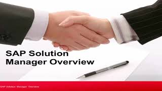 SAP Solution Manager Overview | SAP Solman Introduction | Solman Basics Tutorials