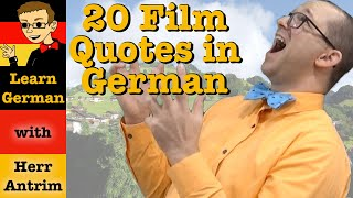 20 Famous Film Quotes In German