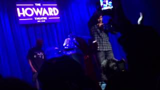 """Gold Alpinas"" Dom Kennedy Concert at Howard Theater"
