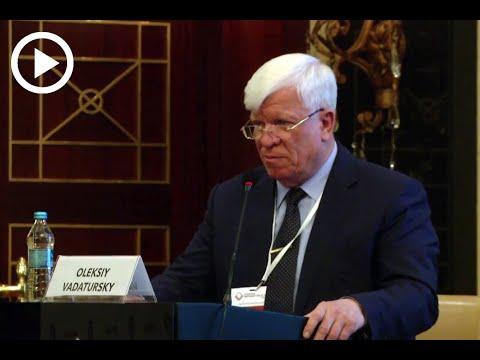 Доповідь Олексія Вадатурського на тему: «Проблеми розбудови внутрішніх водних шляхів та річкового транспорту України»