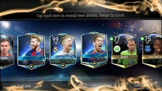 FIFA MOBILE TOTY ATTACKERS PACK OPENING!!!!