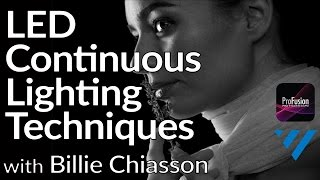 Billie Chiasson - LED Continuous Lighting Techniques Using LEDGO Lighting