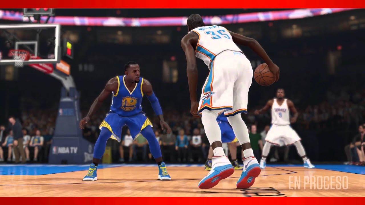 Primer vídeo de NBA 2K15 protagonizado por Kevin Durant