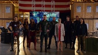 The Crossover - Team Arrow, Team Flash, Team Legends and Supergirl vs The Dominators -PART1-