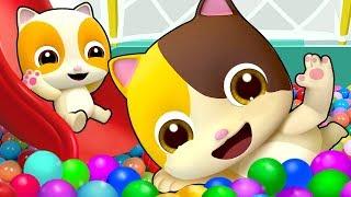 I Love Indoor Playground   Colors Song, Baby Shark   Nursery Rhymes   Kids Songs   BabyBus