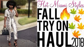 Hot Miami Styles Try On Haul | Fall Edition | iDesign8