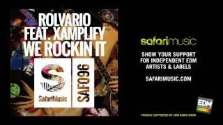 Rolvario Feat Xamplify - We Rockin It (Weiss Schnur Remix) (OUT NOW!!)