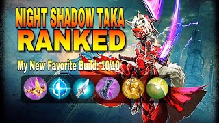 VAINGLORY: Best Taka Build| Awesome Ranked Gameplay | The Taka Meda Build! | Learn To Be Taka Pro