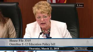 Proposed Delay In Teacher Licensing Rules Angers Rep. Sondra Erickson