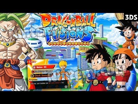 Dragon Ball Fusions 3DS Decrypted | Cia USA ẺUR | Play on PC with