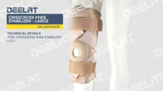Crisscross Knee Stabilizer - Large