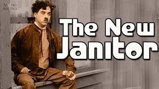 The New Janitor | Charlie Chaplin | 1914 Silent Film | Comedy