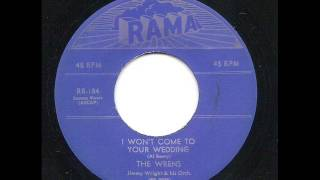 I Won't Come To Your Wedding -  The Wrens
