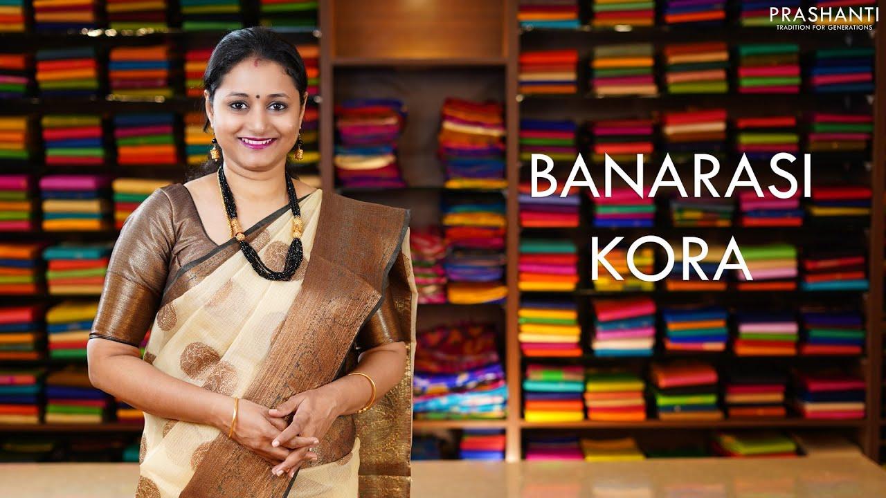 """<p style=""""color: red"""">Video : </p>Banarasi Kora   3 Dec 2020   Prashanti 2020-12-03"""