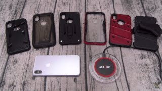 Apple iPhone X Zizo Case Lineup And Wireless Charging Pad