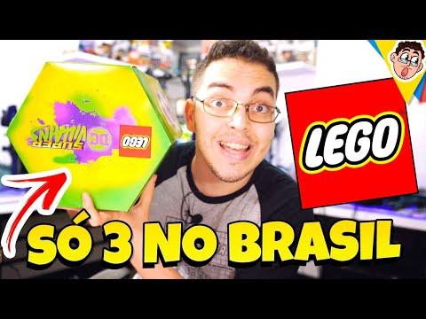 LEGO DC Super Villains Edição Especial - SÓ TEM 3 NO BRASIL! (Uma É do Authentic Games) - Unboxing