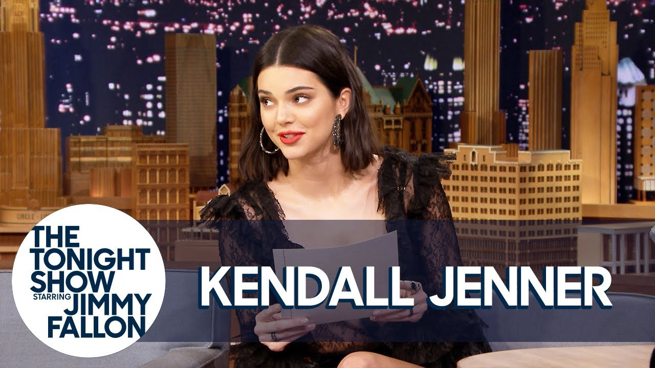 Kendall Jenner Reads a Letter She Wrote as a Teen Predicting Her Modeling Fame thumbnail