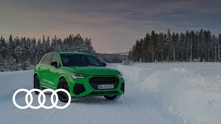 YouTube Video hvAhn1hE6YQ for Product Audi Q3, RS Q3, Q3 Sportback, & RS Q3 Sportback (2nd gen) by Company Audi in Industry Cars