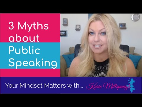 3 Myths about Public Speaking