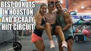 Shoulder Workout and HIIT Circuit - Best Kolaches and Donuts with Sandra