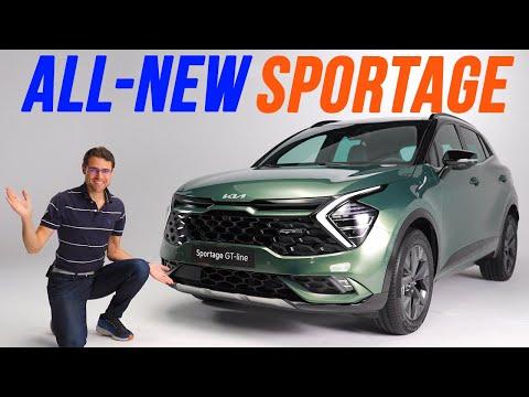 all-new Kia Sportage GT-Line REVIEW Exterior Interior NQ5 2022