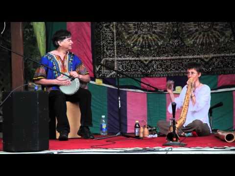 Didgeridoo & Doumbek, Pamela Mortensen & Dave Goodman - InDidjInUs 2011