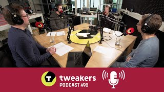 Tweakers Podcast #98 - Laptopverwarring, BlackBerry's lot en de iPad-tragedie
