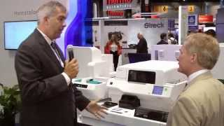 XN-3000 with DI-60 display in Sysmex booth at AACC 2014