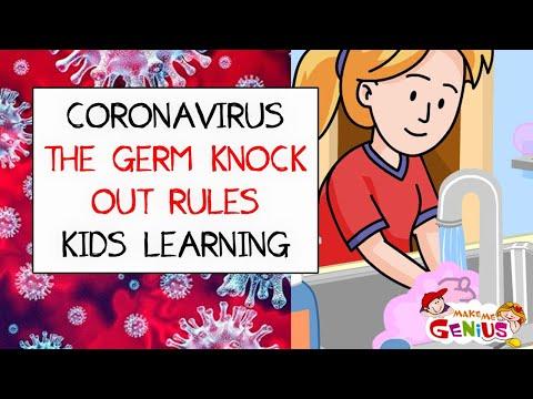 Coronavirus (COVID19) I The Germ Knock Out Rules I Kids Learning