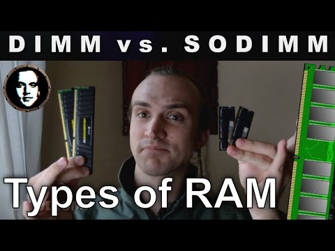 What is the difference between a DIMM and SODIMM (DRAM)