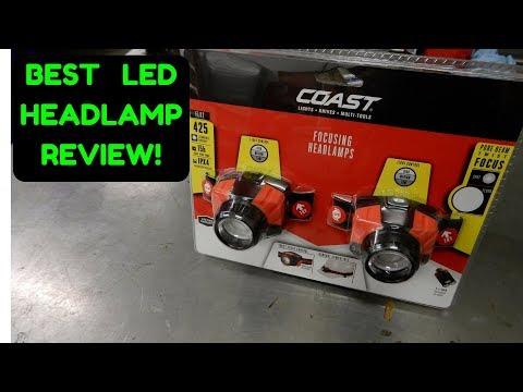 COAST HEADLAMP REVIEW!