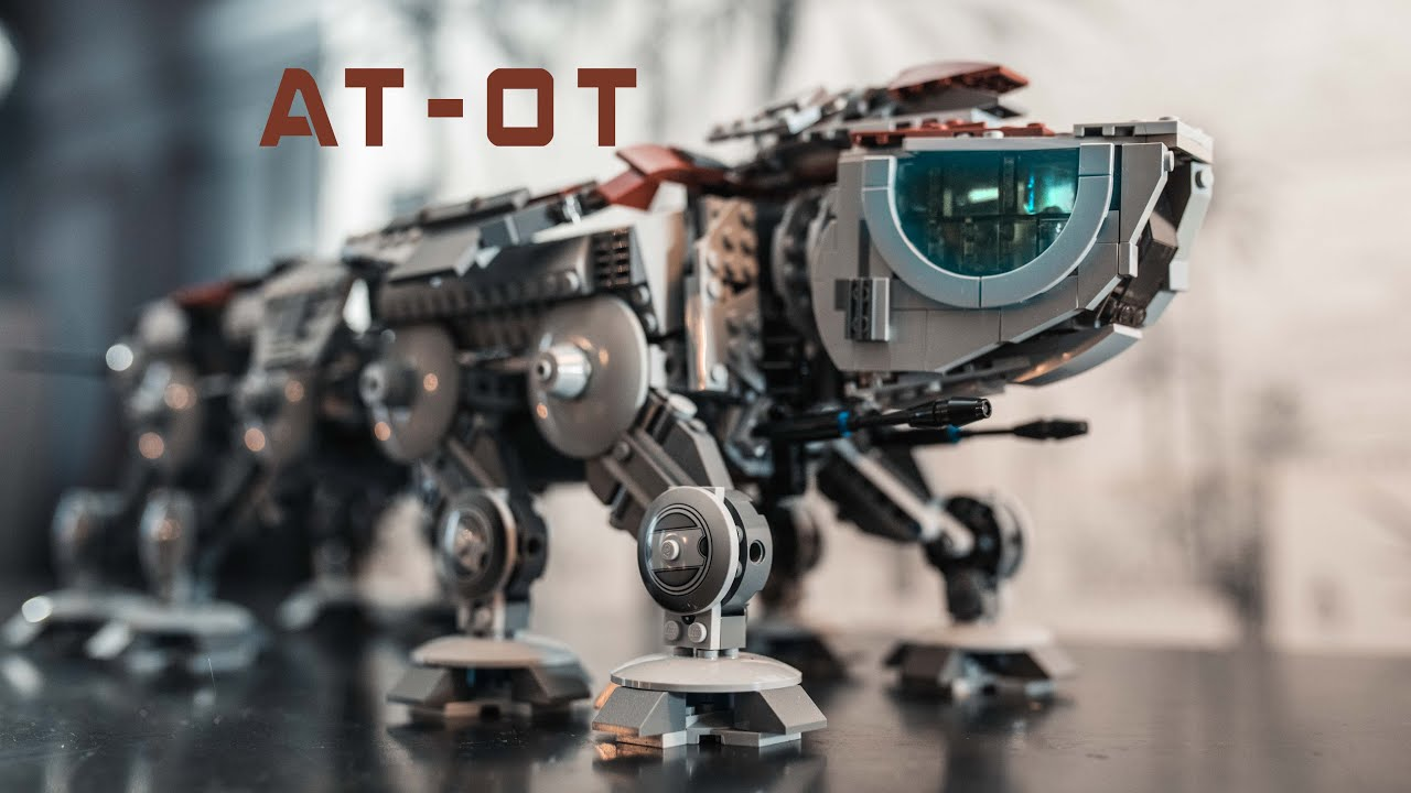 LEGO AT-OT CUSTOM MOC REVIEW - Star Wars
