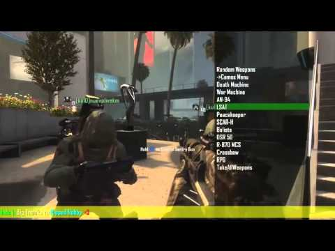 Black Ops 2 - INSANE *HACKED LOBBY* BO2 Mod Menu Online