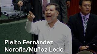 Pleito en el Senado entre Muñoz Ledo y Fernández Noroña - En Punto con Denise Maerker
