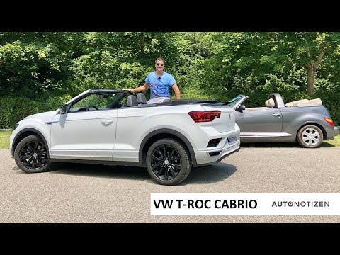 VW T-Roc Cabrio 1.5 TSI R-Line (150 PS) 2020: Offenes SUV im Review, Test, Fahrbericht