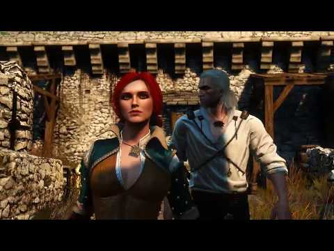 Witcher 1 Prologue Remastered: Triss Sex Scene (Witcher 3 MOD