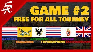3.5 Hour Free For All! | Game #2 FFA Tourney | Age of Empires III
