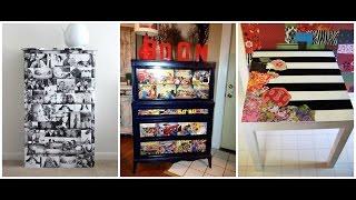DIY Decoupage Furniture | Mod Podge Ideas