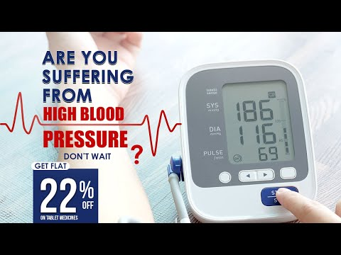 BP Medicines For Flat 22% off On Healthfolks | Blood Pressure
