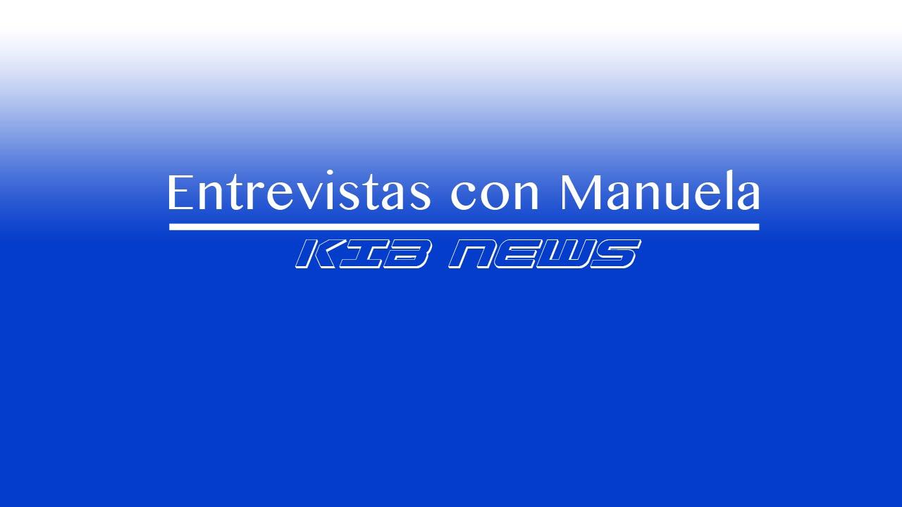 Entrevista con Manuela - KIB News - KIDSWORK. Pequeños Cineastas.