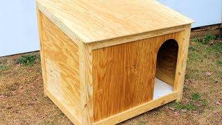 Simple Large Dog House Build DIY