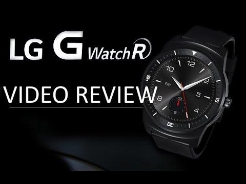 Recensione LG G Watch R, video recensione in Italiano