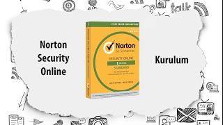 Norton Security Online (Kurulum)