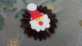 Christmas Special Craft || Schools Bulletin Board Decoration Craft Ideas For Christmas Day