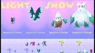 Lumineon  - (Pokémon) - Pokemon Go Sinnoh 4th Gen Finneon-Snover Catches & Lumineon-Abomasnow Evolutions