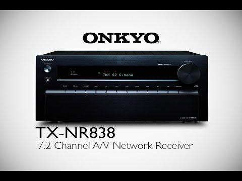 ONKYO - TX-NR838 Network A/V Receiver image 1