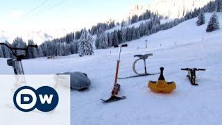 Abgefahren: Winter-Funsportgeräte im Test   Euromaxx